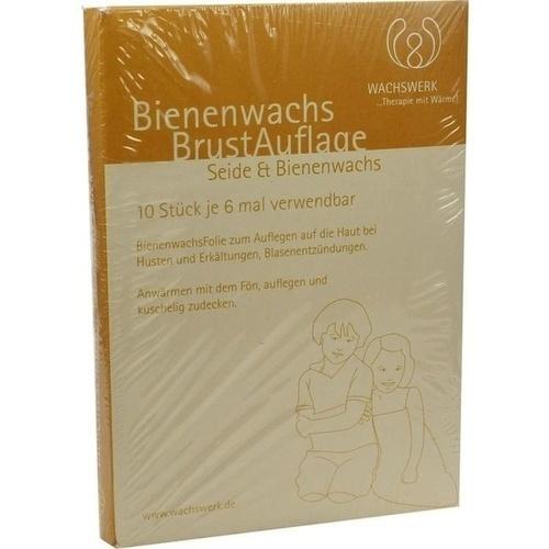 Bienenwachs-Brustauflage Nachfüll Wachswerk, 10 ST, Wachswerk Dirk-Hinrich Otto