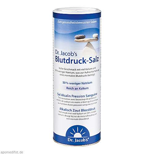 Blutdruck-Salz Dr.Jacob¦s, 500 G, Dr.Jacobs Medical GmbH