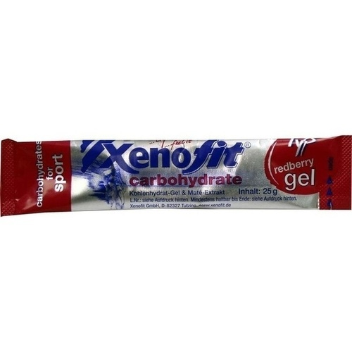 Xenofit carbohydrate gel redberry, 25 G, Xenofit GmbH