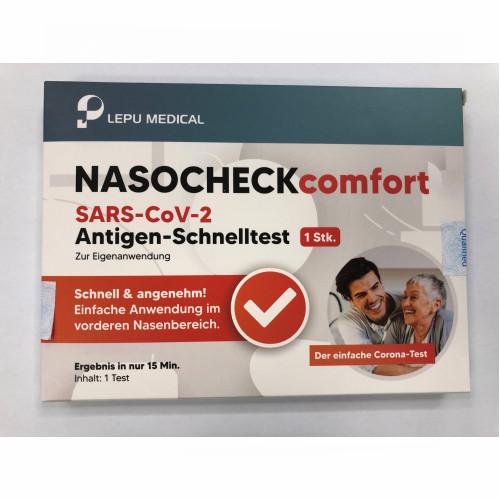 Lepu NASOCHECK comfort SARS-CoV-2 Antigen-Schnelltest (zur Eigenanwendung), 20 ST, Beijing Lepu Medical Technology Co., Ltd.