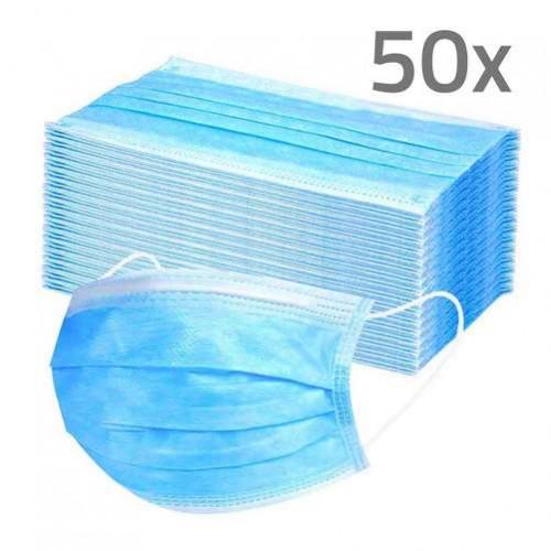 OP Maske 3-lagig, 50 ST, PROTO GLOBAL GmbH