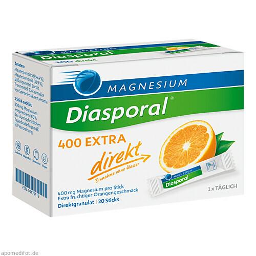 MAGNESIUM DIASPORAL 400 Extra direkt Granulat, 20 ST, Protina Pharmazeutische GmbH