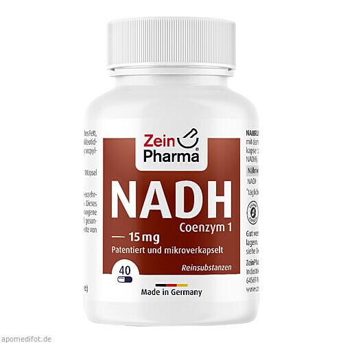 NADH micro effect Kapseln 15mg, 30 ST, Zein Pharma - Germany GmbH