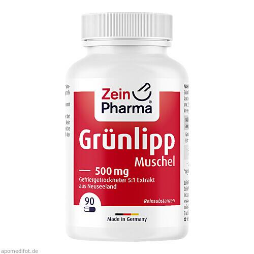 Grünlippmuschel mit 2% GAG u. 27% Omega-3Fettsäure, 90 ST, Zein Pharma - Germany GmbH