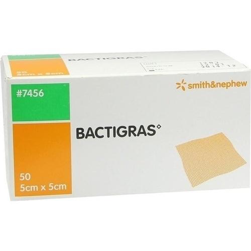 Bactigras 5x5cm, 50 ST, Smith & Nephew GmbH