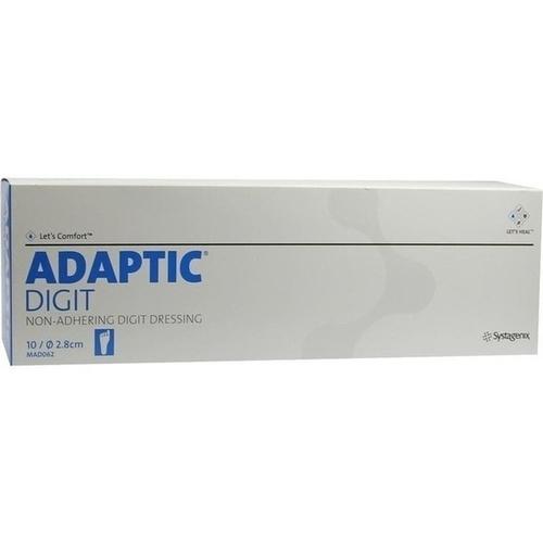 ADAPTIC Digit.Zehenverband L 2.8cm durchm, 10 ST, Kci Medizinprodukte GmbH