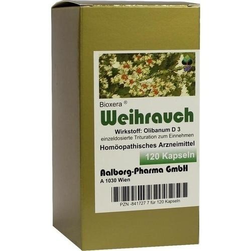 Weihrauch Bioxera, 120 ST, Aalborg Pharma GmbH