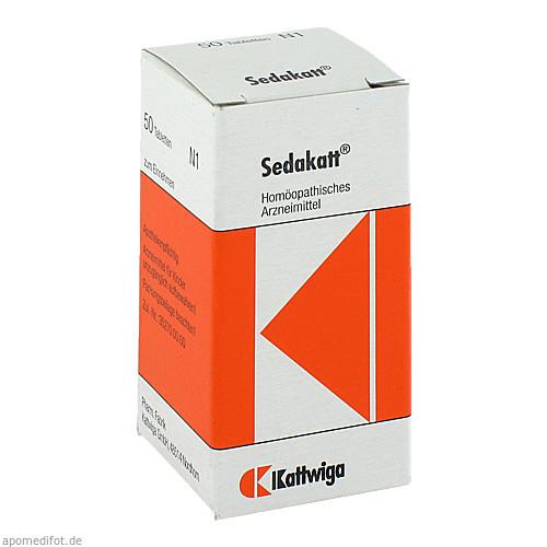SEDAKATT Tabletten, 50 ST, Kattwiga Arzneimittel GmbH