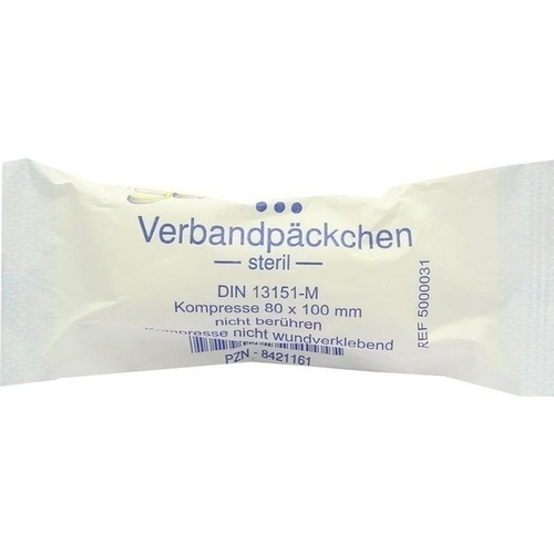 Senada Verbandpäckchen mittel, 1 ST, Erena Verbandstoffe GmbH & Co. KG