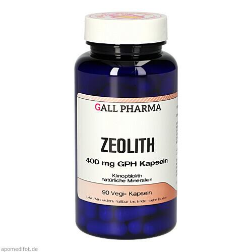 Zeolith 400mg GPH Kapseln, 90 ST, Hecht-Pharma GmbH