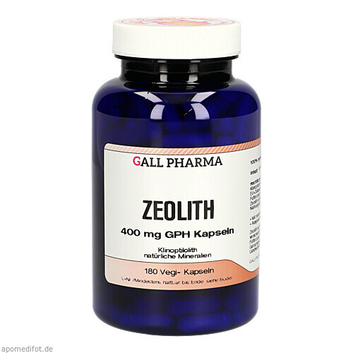 Zeolith 400mg GPH Kapseln, 180 ST, Hecht-Pharma GmbH