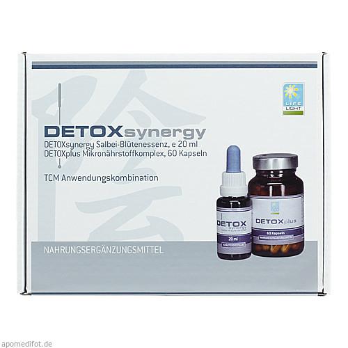 DETOX Synergy Salbei-Kräuterdest.+Detox plus Kaps., 1 P, Apozen Vertriebs GmbH