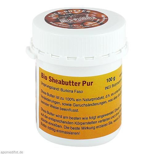 Sheabutter Pur Bio unraffiniert, 100 G, Abis-Pharma