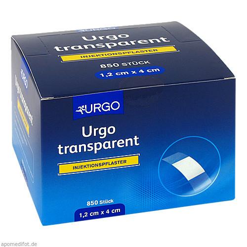 URGO TRANSPARENT INJEKTIONSPFLASTER 1.2X4cm, 850 ST, Urgo GmbH