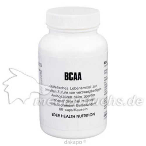 BCAA, 60 ST, Eder Health Nutrition