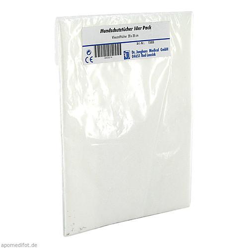 Mundschutztücher Vliesstoff, 10 ST, Dr. Junghans Medical GmbH