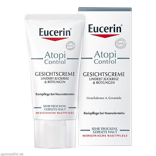Eucerin AtopiControl Gesichtscreme, 50 ML, Beiersdorf AG Eucerin