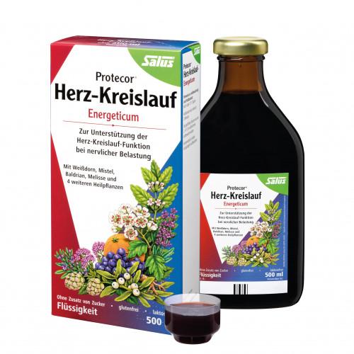 Protecor Herz-Kreislauf-Energeticum, 500 ML, Salus Pharma GmbH
