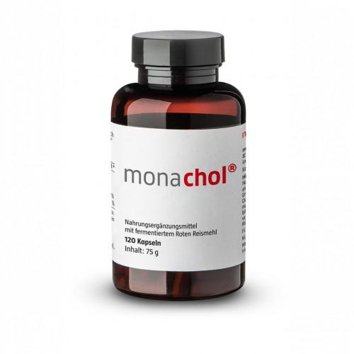 Monachol Rotes Reismehl 500mg, 120 ST, Monasan GmbH