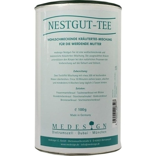 Nest Gut Tee, 100 G, Medesign I. C. GmbH