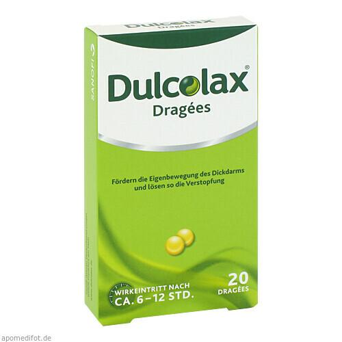 DULCOLAX DRAGEES, 20 ST, Sanofi-Aventis Deutschland GmbH