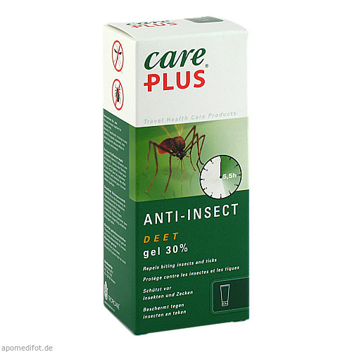 Care Plus Deet-Anti-Insect Gel 30%, 80 ML, Tropicare Deutschland GmbH