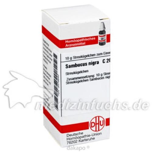 SAMBUCUS NIGRA C200, 10 G, Dhu-Arzneimittel GmbH & Co. KG