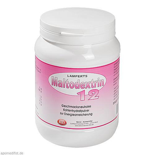 Maltodextrin 12 Lamperts, 500 G, Berco-ARZNEIMITTEL