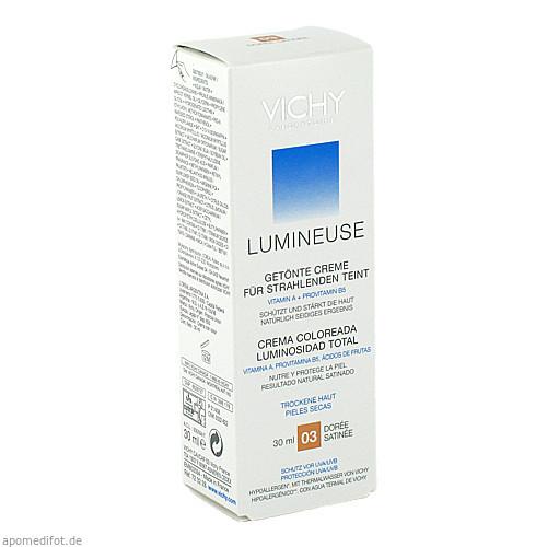 VICHY LUMINEUSE DORE Satinee für trockene Haut, 30 ML, L'oreal Deutschland GmbH