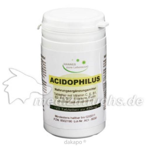 Acidophilus, 120 ST, G & M Naturwaren Import GmbH & Co. KG