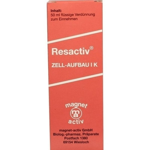 Resactiv Tropfen, 50 ML, Infirmarius GmbH