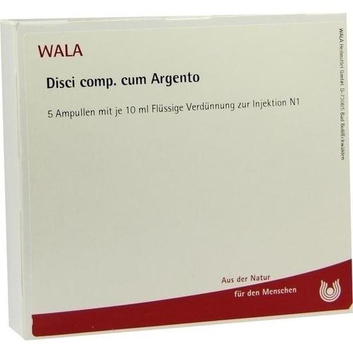 DISCI COMP C ARGENTO, 5X10 ML, Wala Heilmittel GmbH