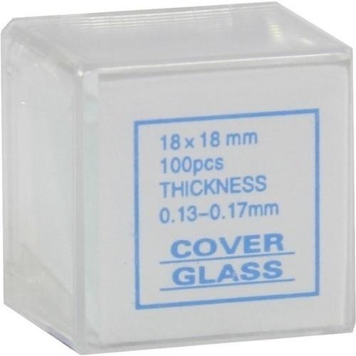 Deckgläser 18x18mm, 100 ST, Dr. Junghans Medical GmbH