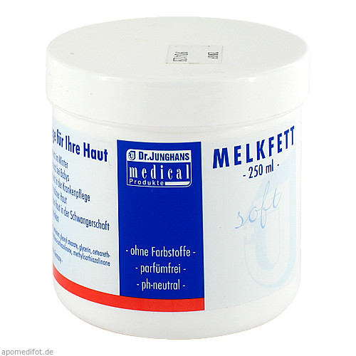 Melkfett Soft, 250 G, Dr. Junghans Medical GmbH