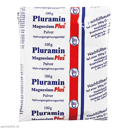 PLURAMIN MAGNESIUM PLUS NACHFUELLBEUTEL, 300 G, Pharma-Peter GmbH