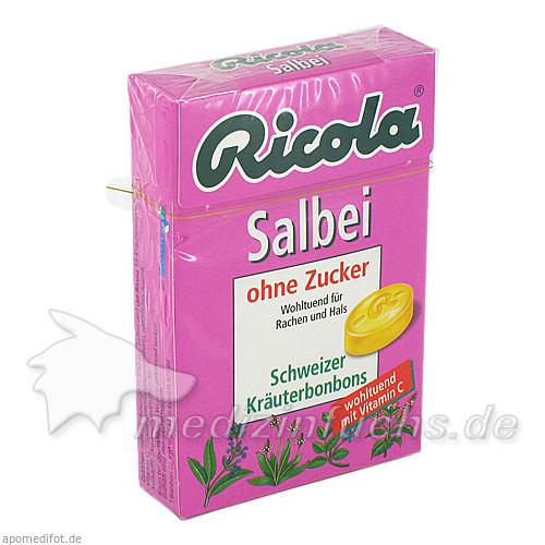 RICOLA o.Z. Box Salbei Bonbons, 50 G, MCM KLOSTERFRAU Vertr. GmbH