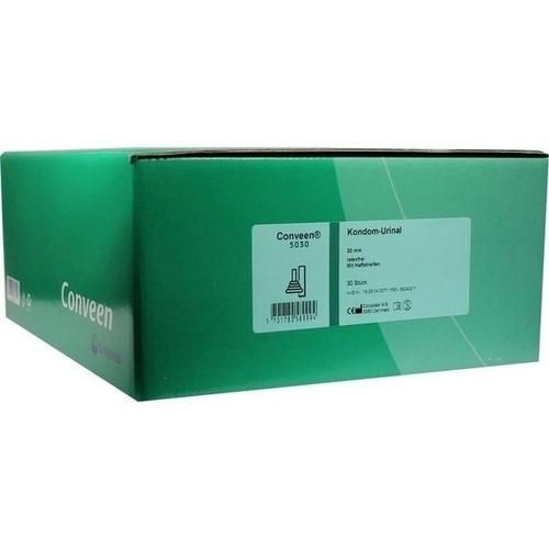 CONVEEN KONDOM URINAL LATEXFREI HAFTSTREIF 5030 30, 30 ST, Coloplast GmbH