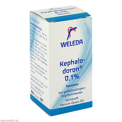 Kephalodoron 0.1%, 100 ST, Weleda AG