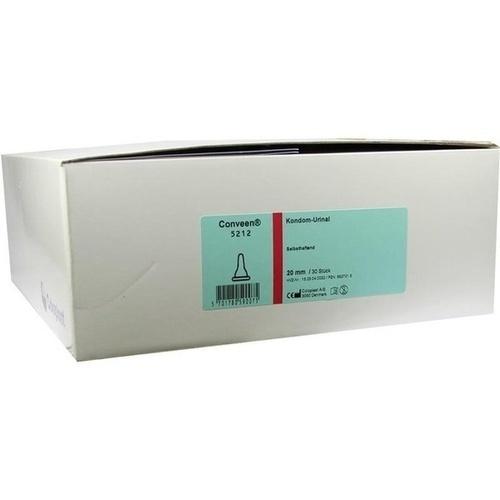 CONVEEN KONDOM URINAL SELBSTHAFTEND 5212 20mm, 30 ST, Coloplast GmbH