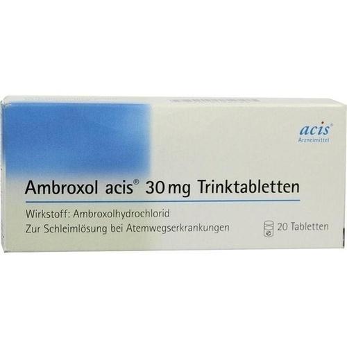 Ambroxol acis 30mg Trinktabletten, 20 ST, Acis Arzneimittel GmbH