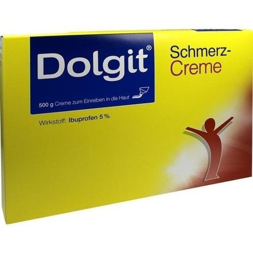 DOLGIT Schmerzcreme, 5X100 G, Dr. Theiss Naturwaren GmbH