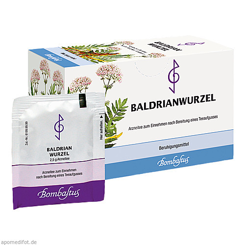 BALDRIANWURZEL, 20X2.5 G, Bombastus-Werke AG
