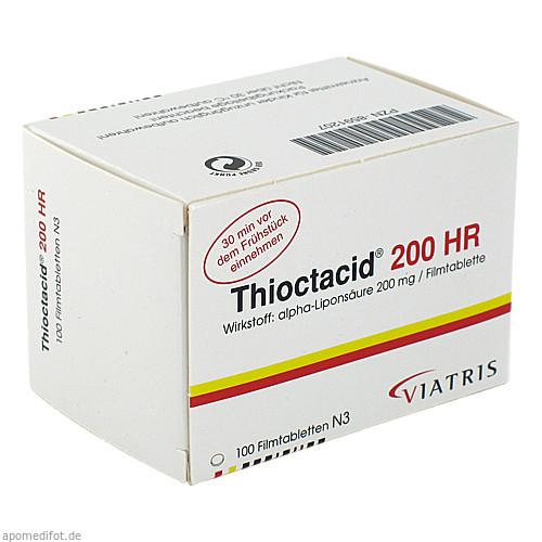 Thioctacid 200 HR, 100 ST, Meda Pharma GmbH & Co. KG