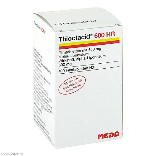 Thioctacid 600 HR, 100 ST, MEDA Pharma GmbH & Co.KG