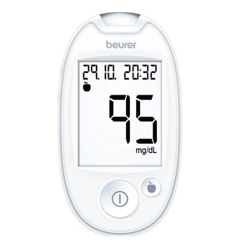 Beurer GL 44 Blutzuckermessgerät weiss mg/dl, 1 ST, Beurer GmbH Gesundheit und Wohlbefinden