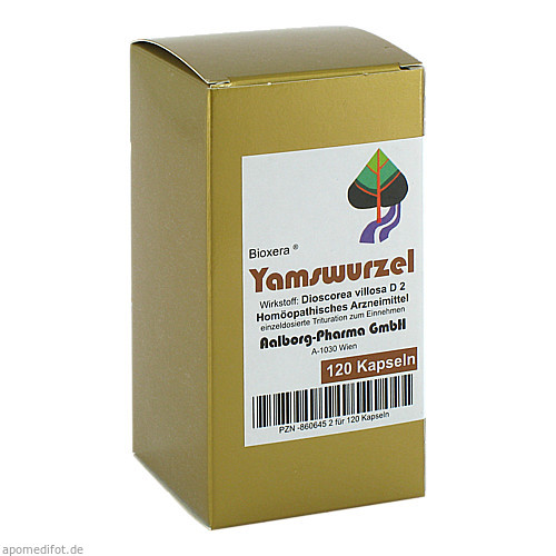 Yamswurzel, 120 ST, Aalborg Pharma GmbH