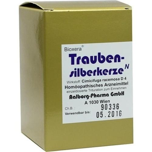 TRAUBENSILBERKERZE Bioxera Kapseln, 60 ST, Aalborg Pharma GmbH