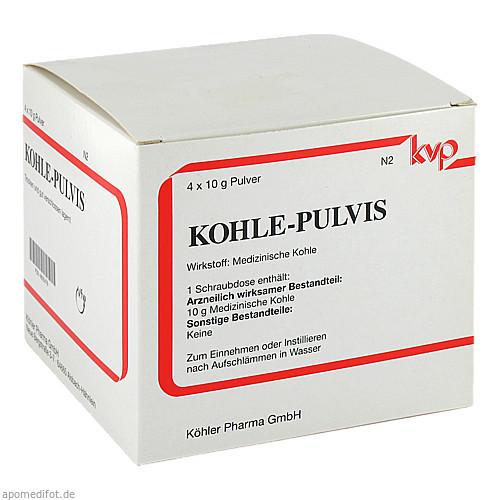 KOHLE-PULVIS, 4X10 G, Köhler Pharma GmbH