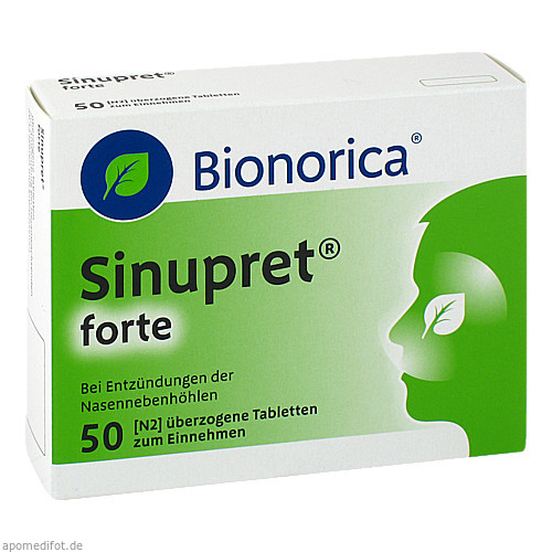Sinupret forte Dragees, 50 ST, Bionorica Se