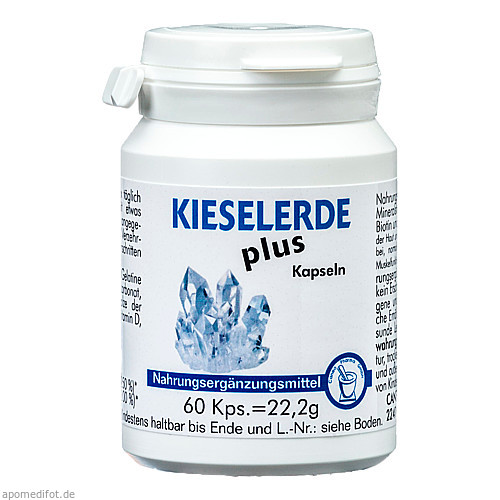 Kieselerde plus, 60 ST, Pharma Peter GmbH